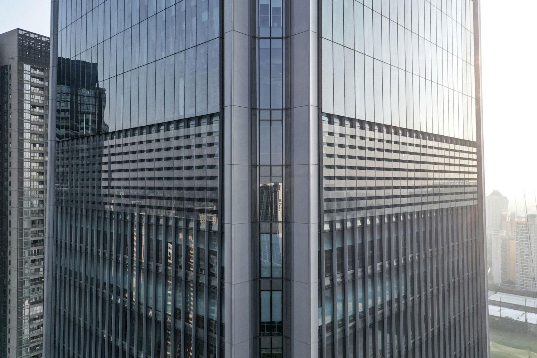 Facade Detail View Jaeger Kahlen Partners Architects Ltd.