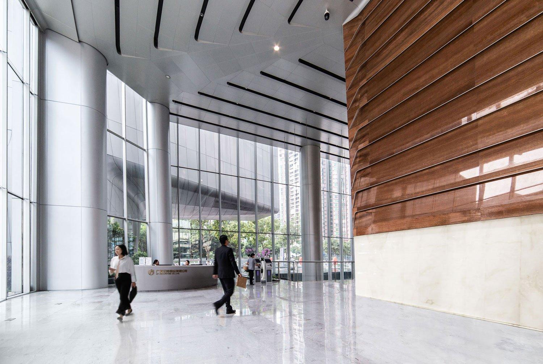 Lobby View 01 Jaeger Kahlen Partners Architects Ltd.
