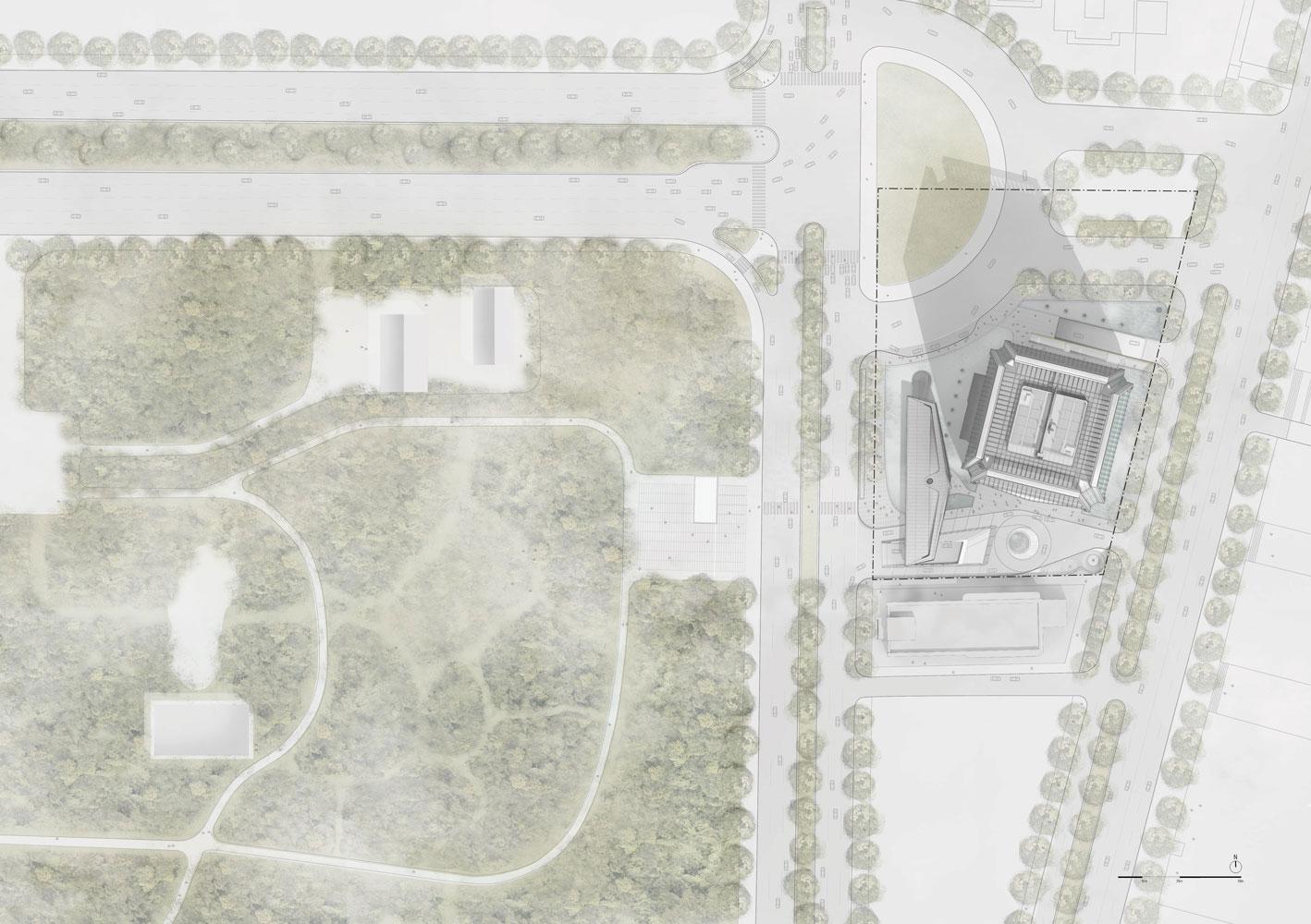 Master plan Jaeger Kahlen Partners Architects Ltd.}