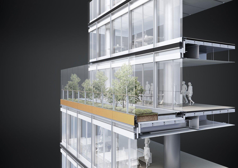 Garden Facade View Jaeger Kahlen Partners Architects Ltd.}