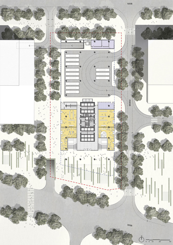 Ground Floor Plan Jaeger Kahlen Partners Architects Ltd.}