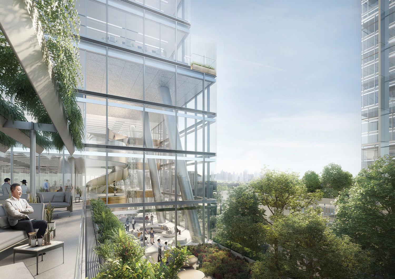 Terrace View Render Jaeger Kahlen Partners Architects Ltd.