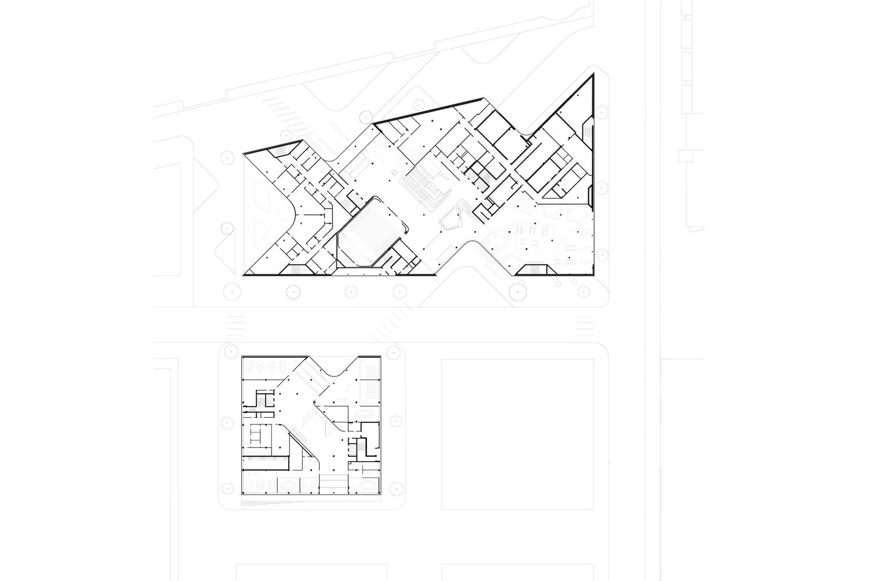 BHQ Floor Plan Level 0 HENN}