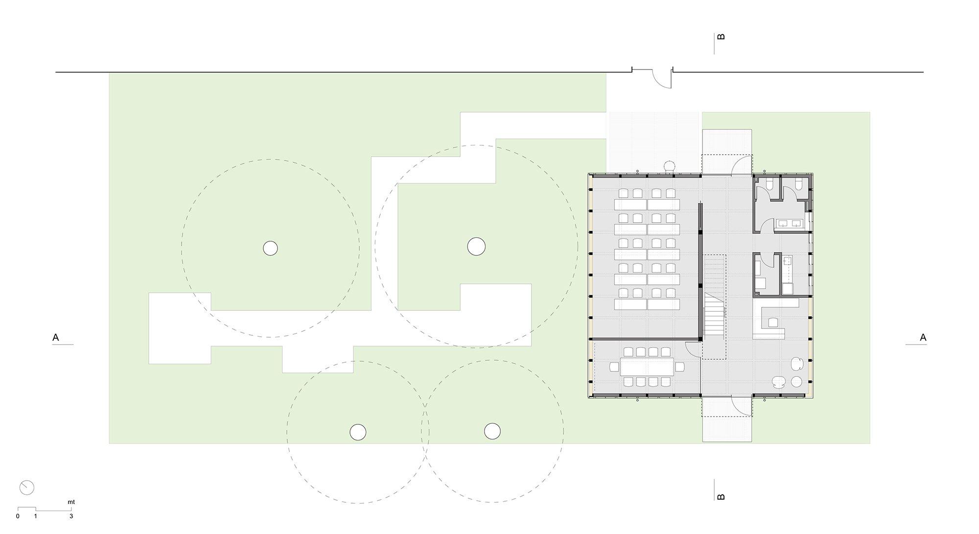 1st Floor Plan Maurizio Angelini}