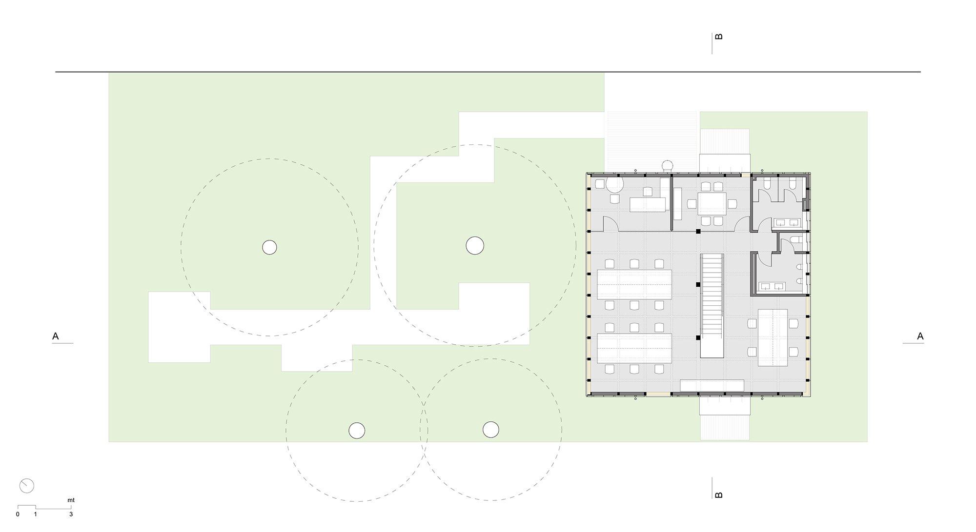2nd Floor Plan Maurizio Angelini}