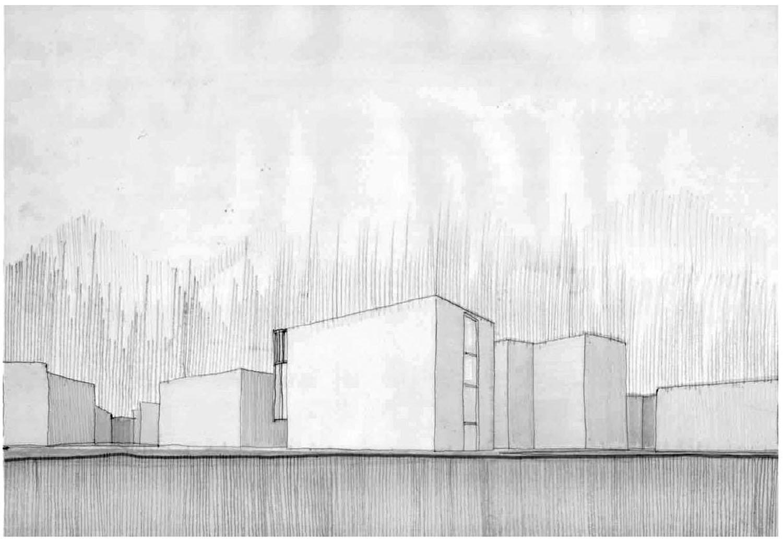disegno di progetto Riccardo Renzi, Mario De Stefano, Claudio Piferi, DIDA-UNIFI}