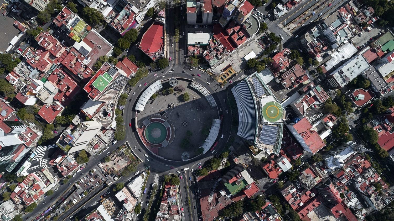 Glorieta de Insurgentes Tower_skyview Luis Gallardo