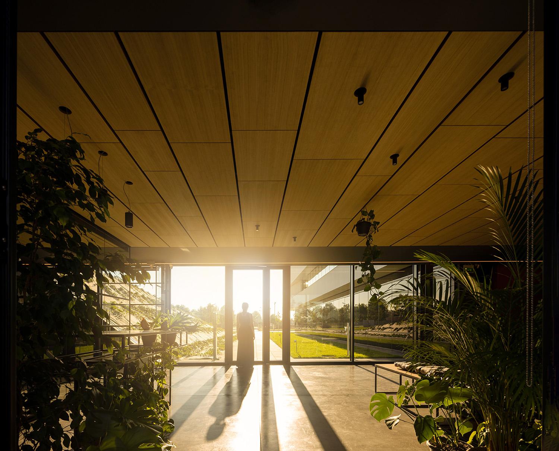 l'atrio di ingresso Fernando Guerra | FG+SG fotografia de arquitectura