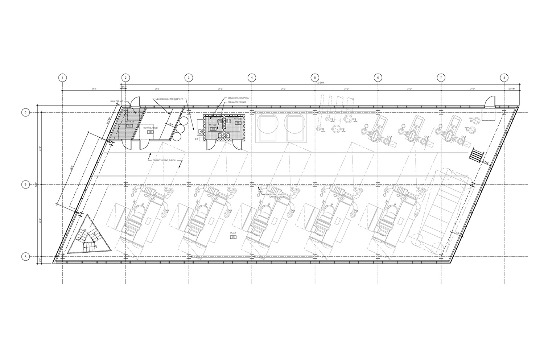 Ground Floor Plan of the UMass Amherst North Chiller Plant Leers Weinzapfel Associates}