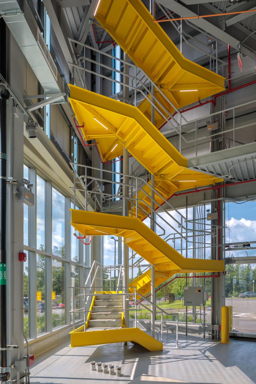 Feature Yellow Stair Brad Feinknopf