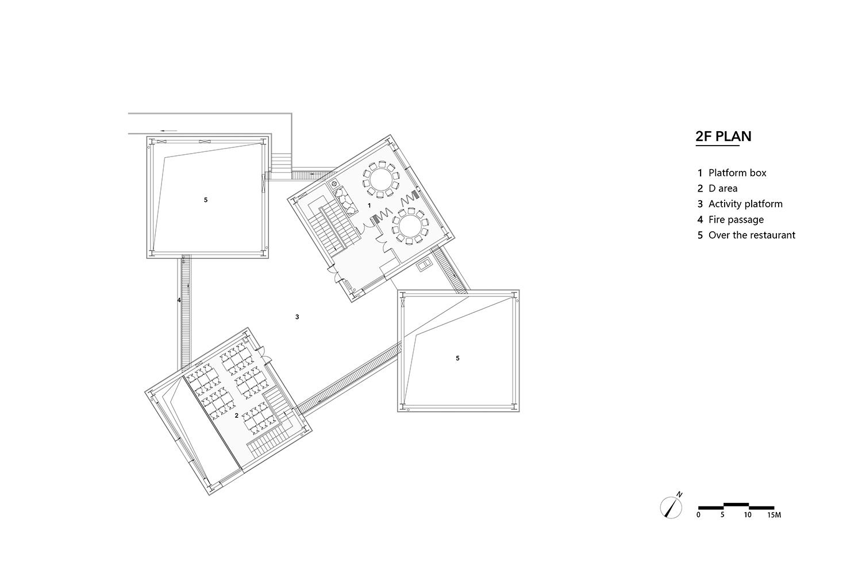 dining hall 2F plan gad · line+ studio}