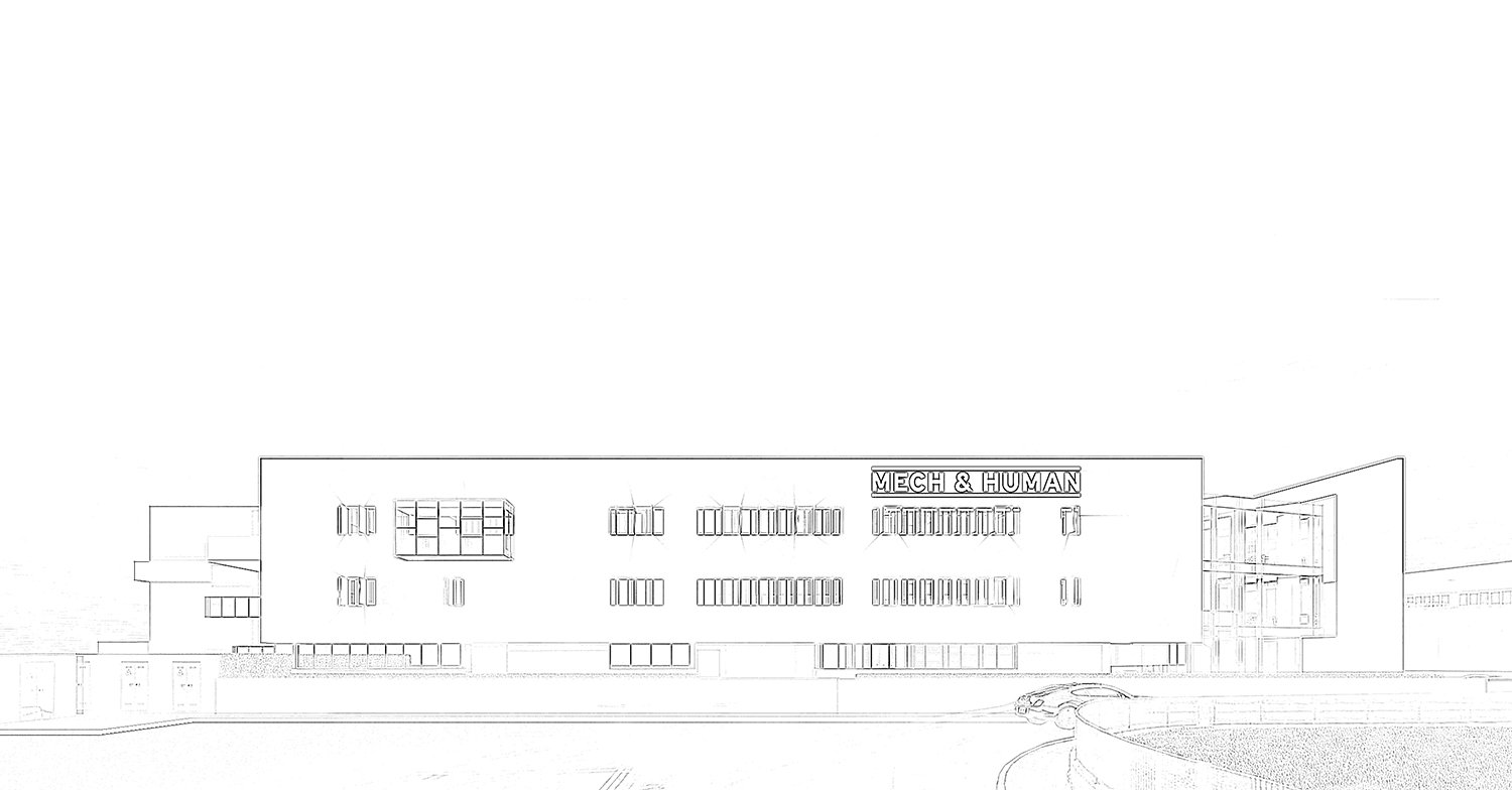 Sketch of the main elevation Tecnostudio srl}