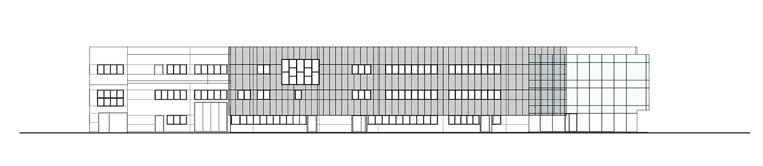 West elevation Tecnostudio srl}