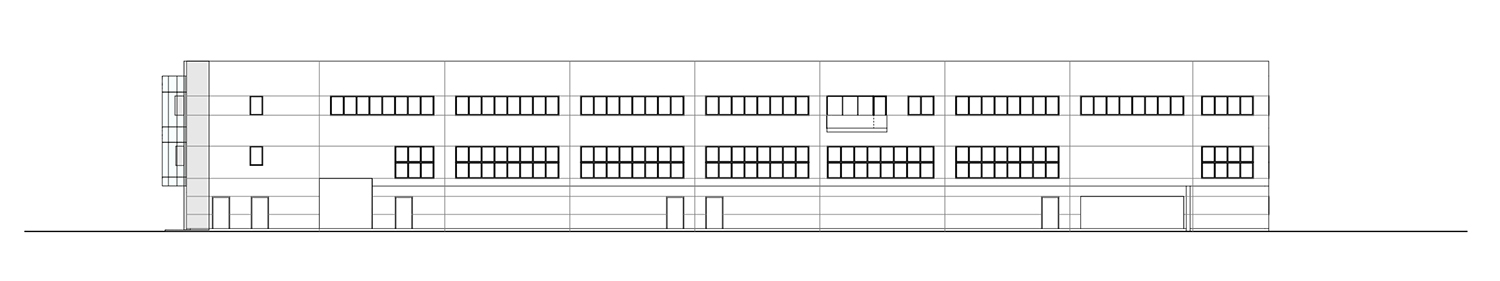 East elevation Tecnostudio srl}