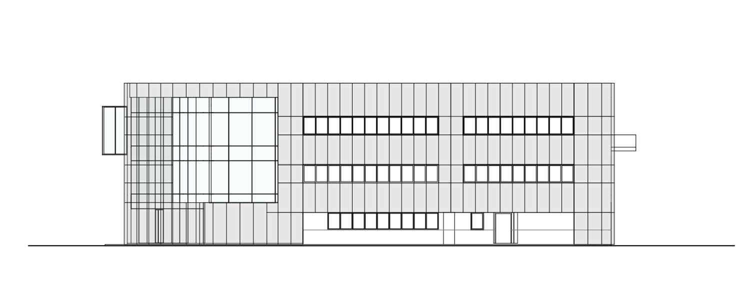 South elevation Tecnostudio srl}