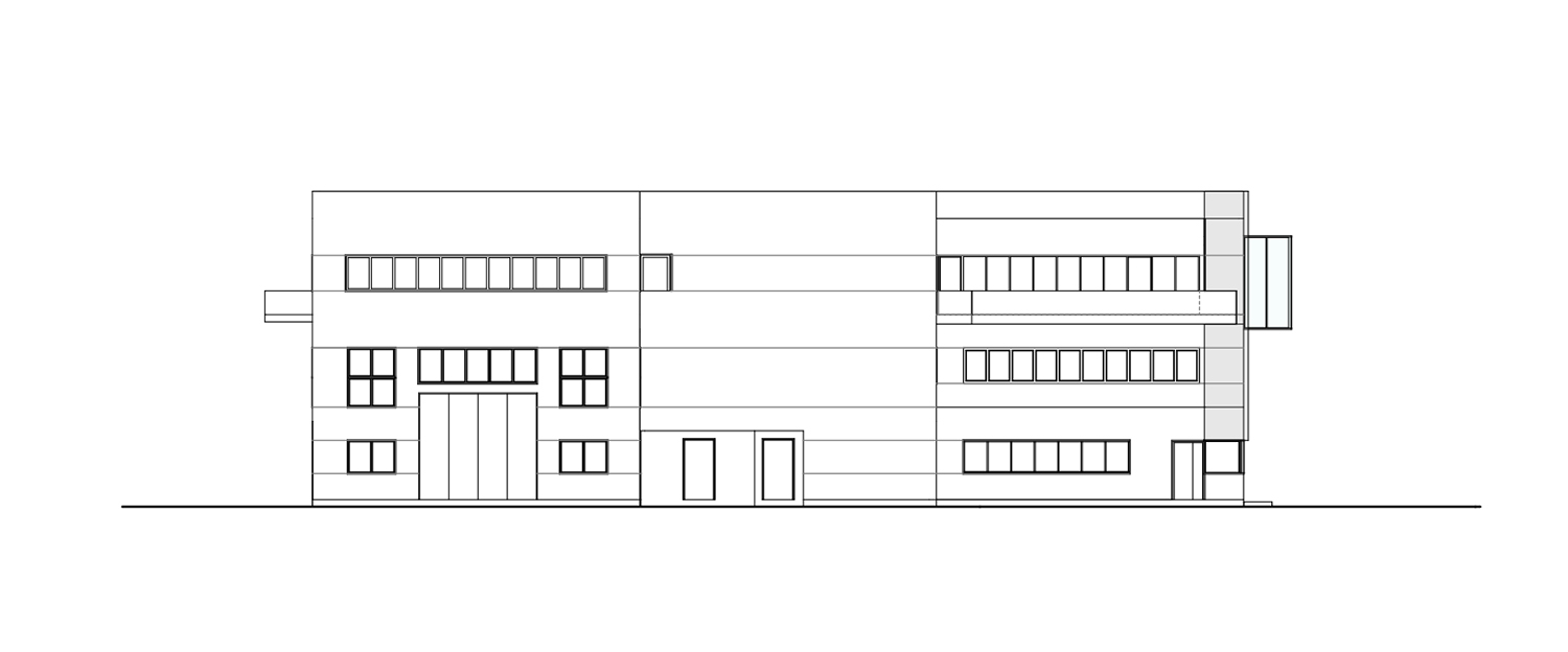 North elevation Tecnostudio srl}