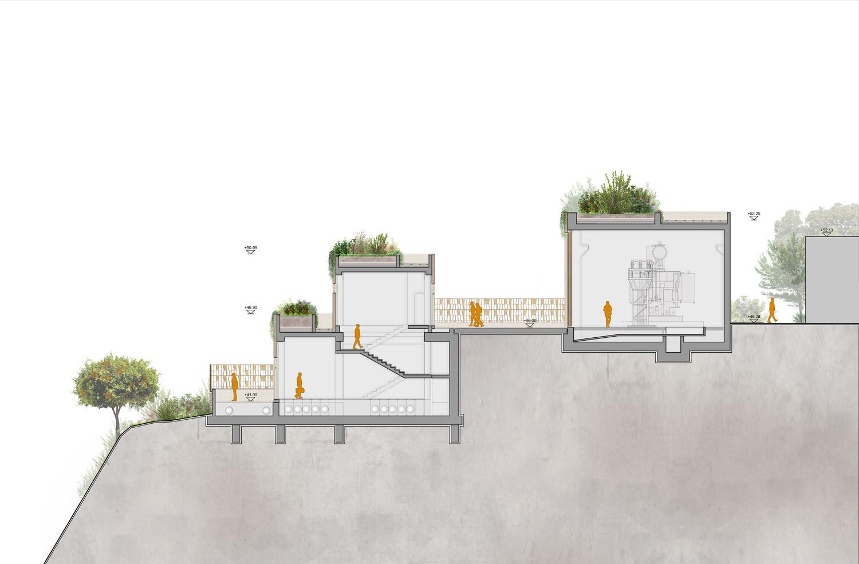 Sezione traversale Frigerio Design Group}
