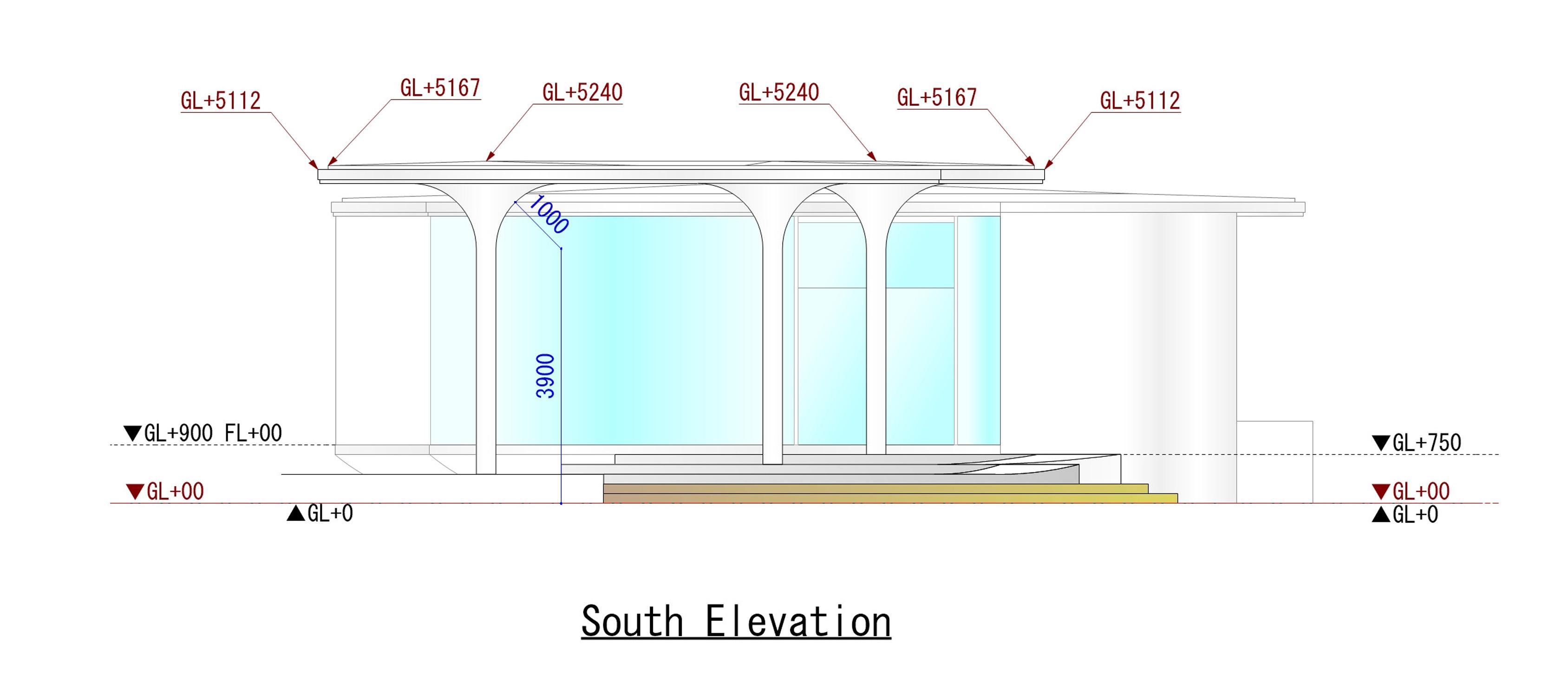 South Elevation KTX archiLAB}