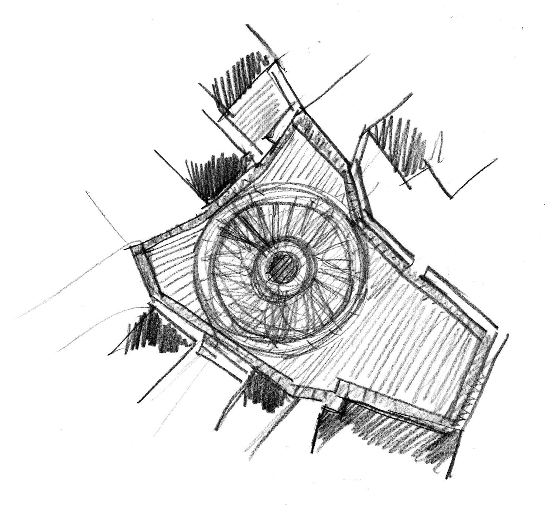 sketches Enrico Sassi Architetto}