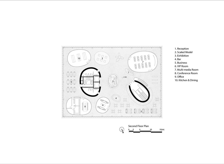 Second Floor Plan EID Architecture}