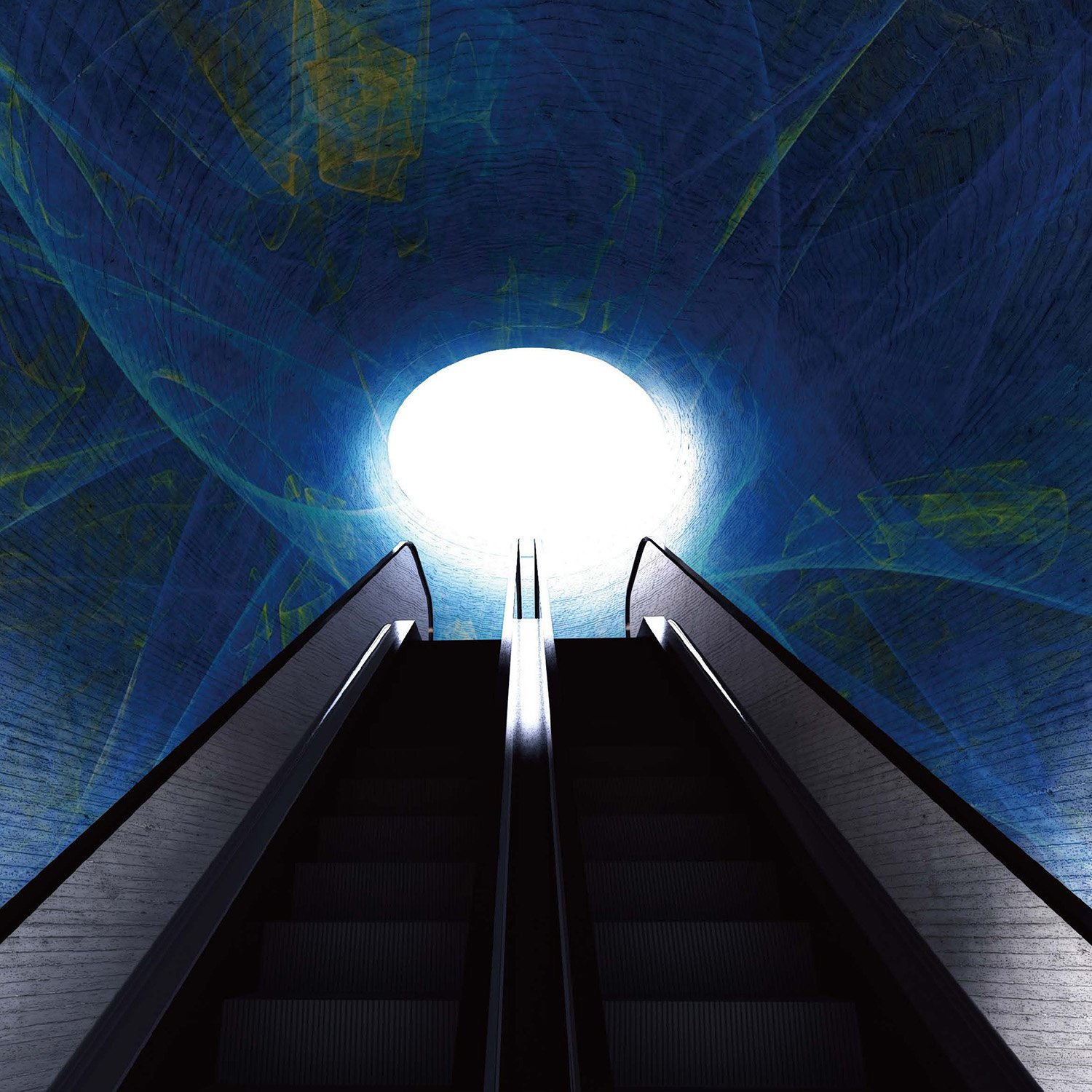 The Tunnel of Light with Digital Art Installation EID Architecture