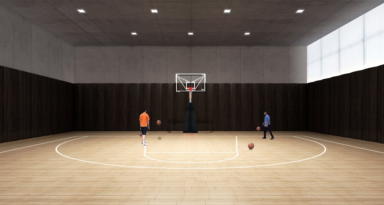 Basketball Court EID Architecture