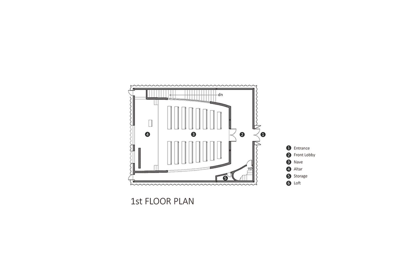 1st Floor Plan EID Architecture}