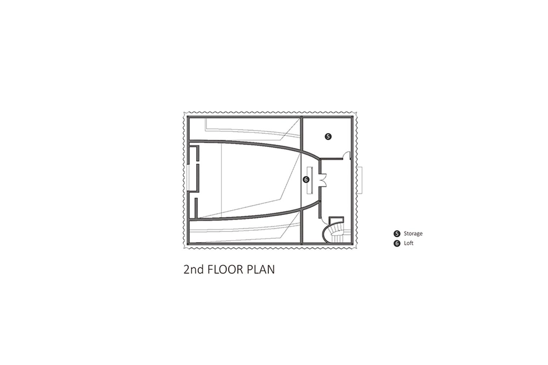 2nd Floor Plan EID Architecture}