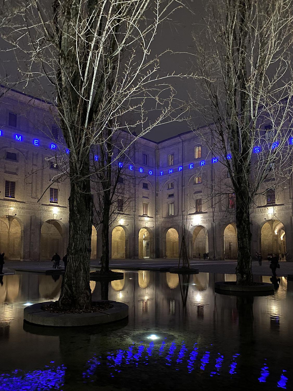 Acqua, natura, architettura: la fontana di notte Luca Faroldi, photographer