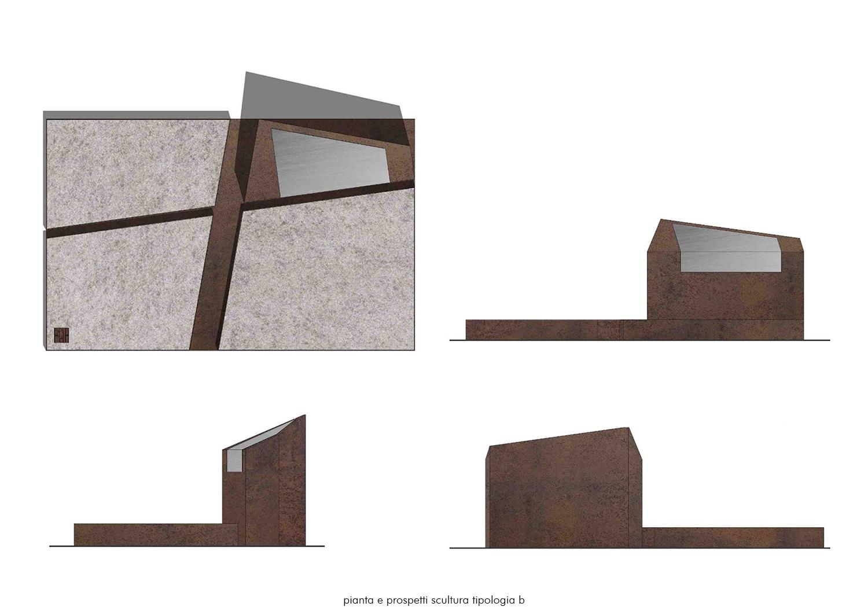 La scultura_tipologia B EFA studio di architettura}