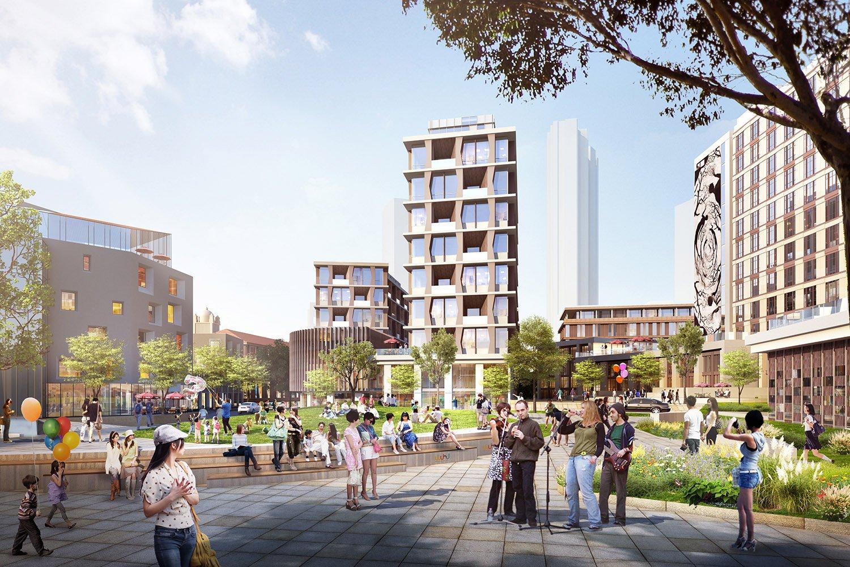 A New Urban Park Sasaki