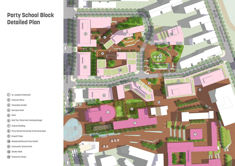 Party School Block Detailed Plan Sasaki}