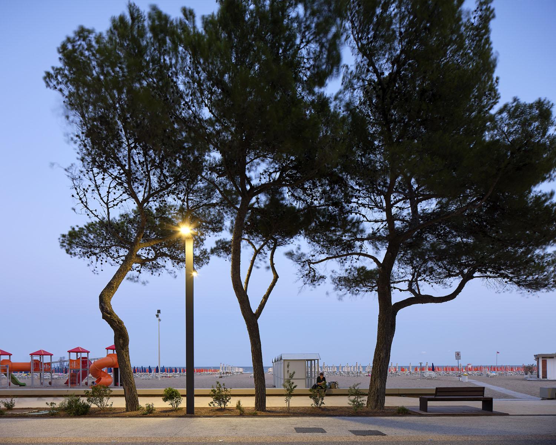 Panchina notturna Massimo Crivellari