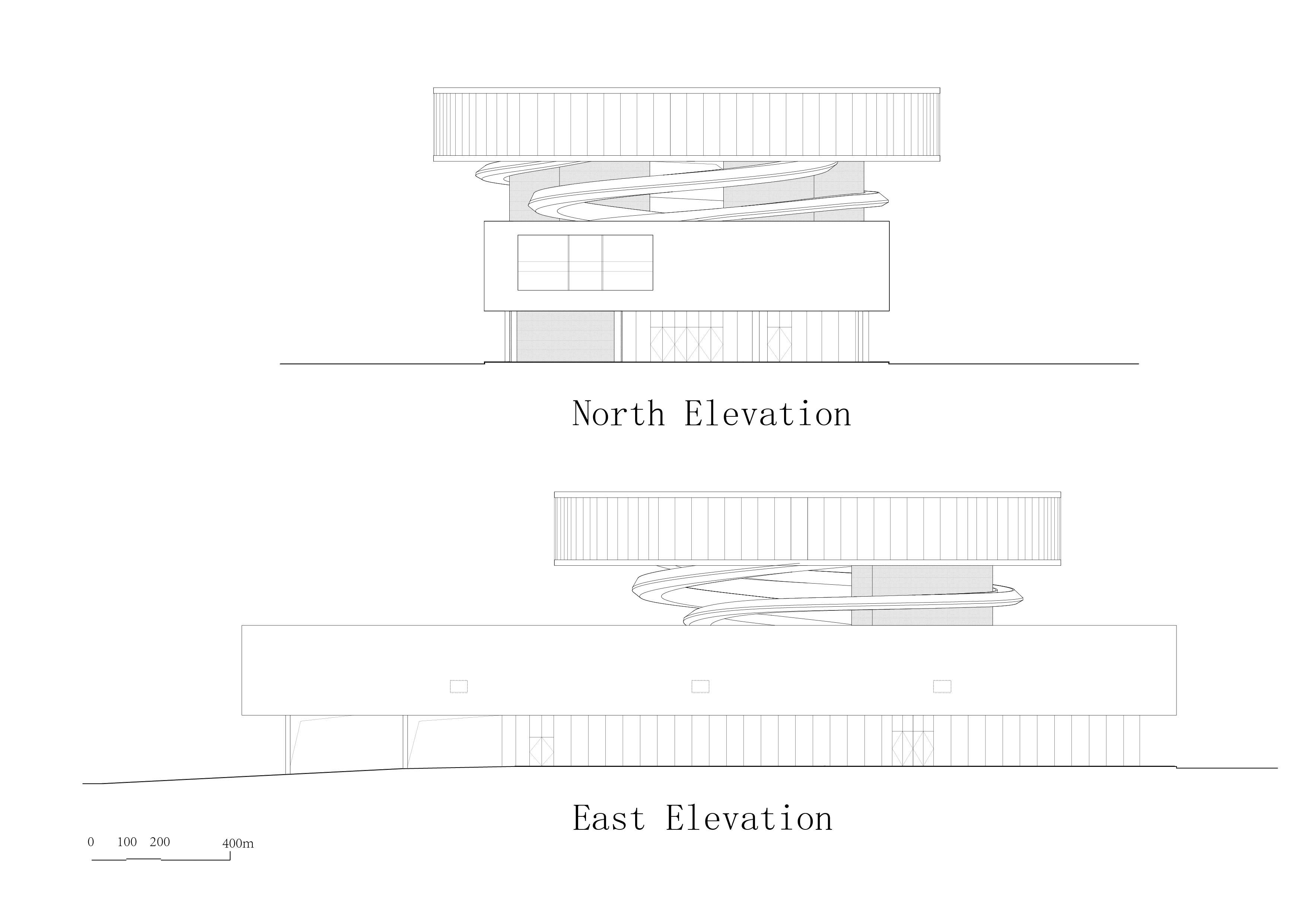 south-east elevation E+LAB}
