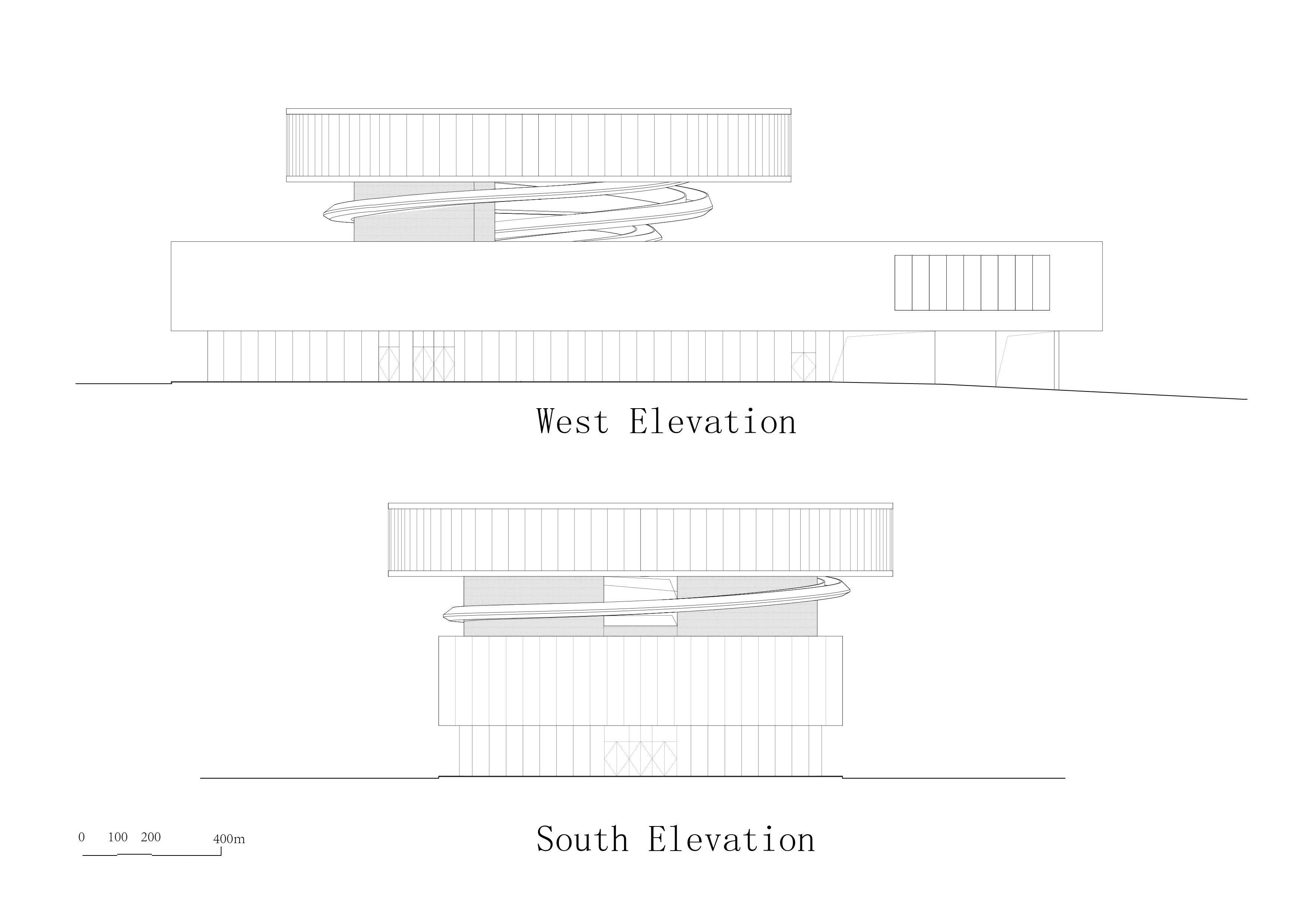 north-west elevation E+LAB}
