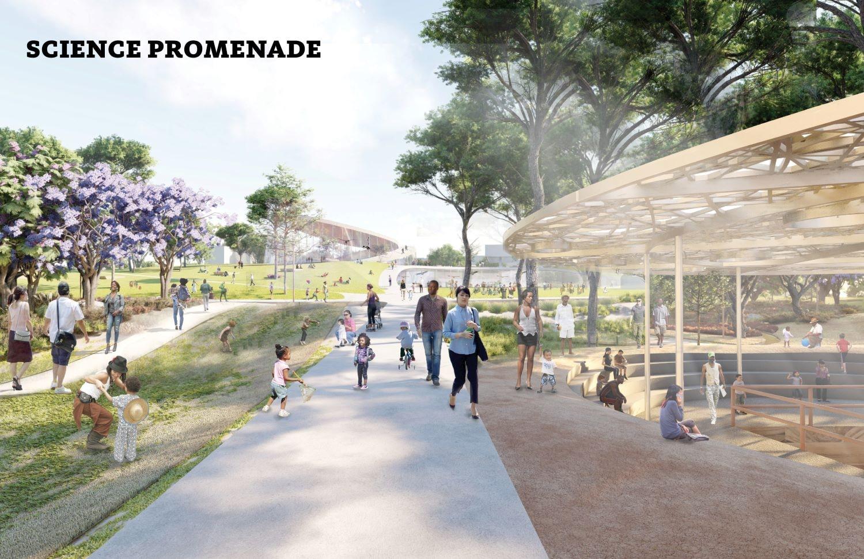 Science Promenade WEISS/MANFREDI