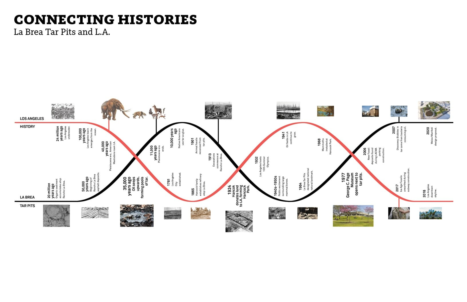 Connecting histories WEISS/MANFREDI}