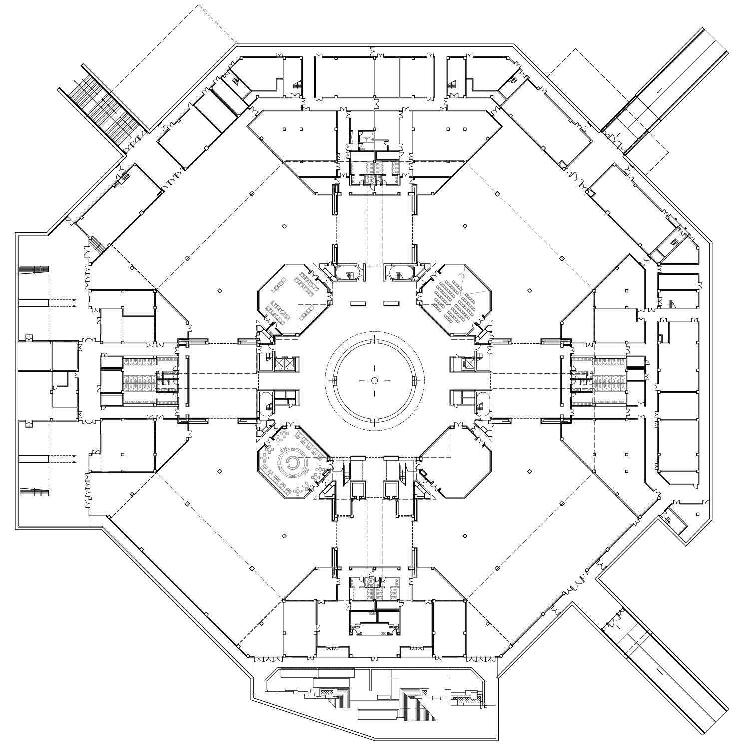 Underground Floor Plan The Architectural Design & Research Institute of Zhejiang University}