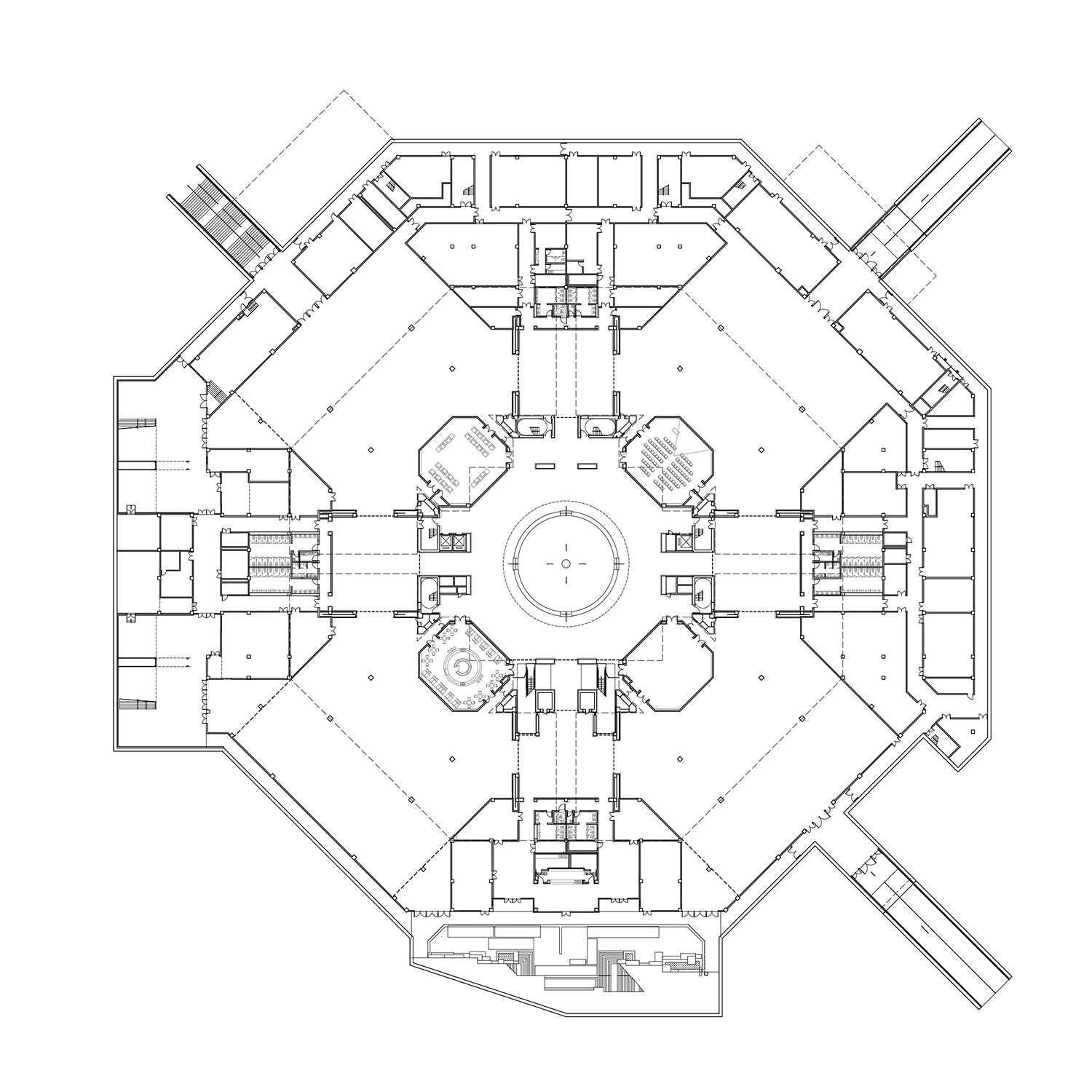 300 - Underground Floor Plan The Architectural Design & Research Institute of Zhejiang University}