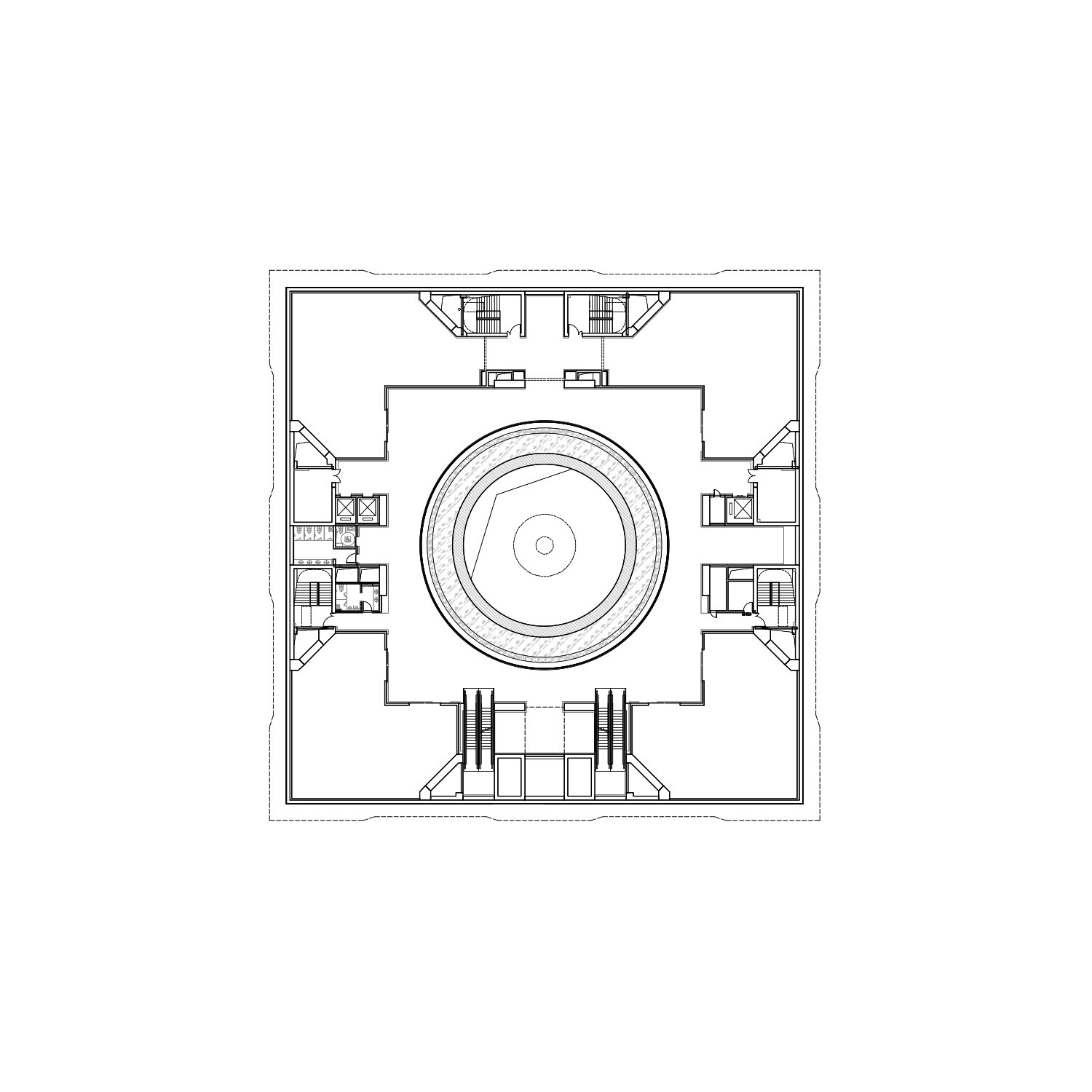2nd Floor Plan The Architectural Design & Research Institute of Zhejiang University}