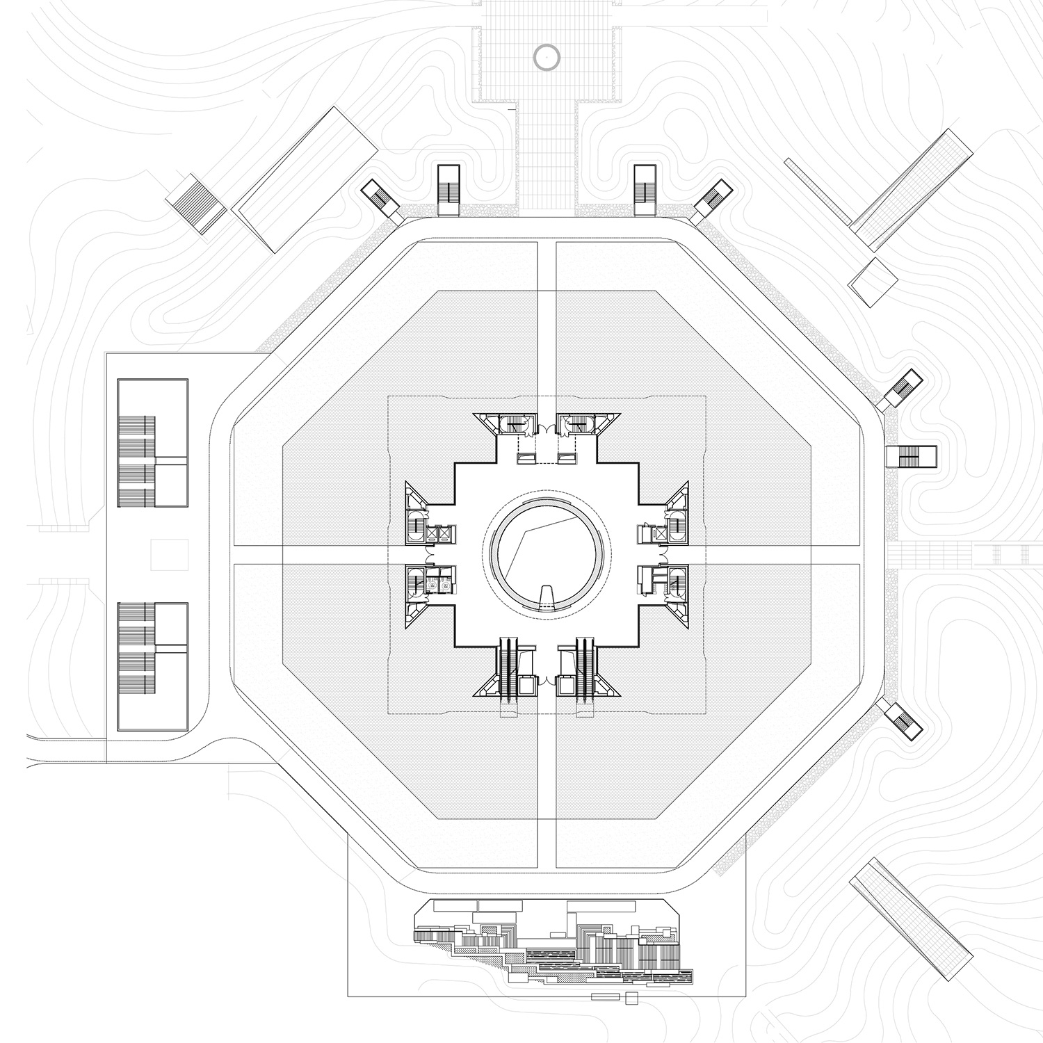 300 - 1st Floor Plan The Architectural Design & Research Institute of Zhejiang University}