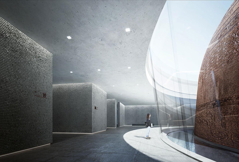 Da Yu Memorial Hall © UAD