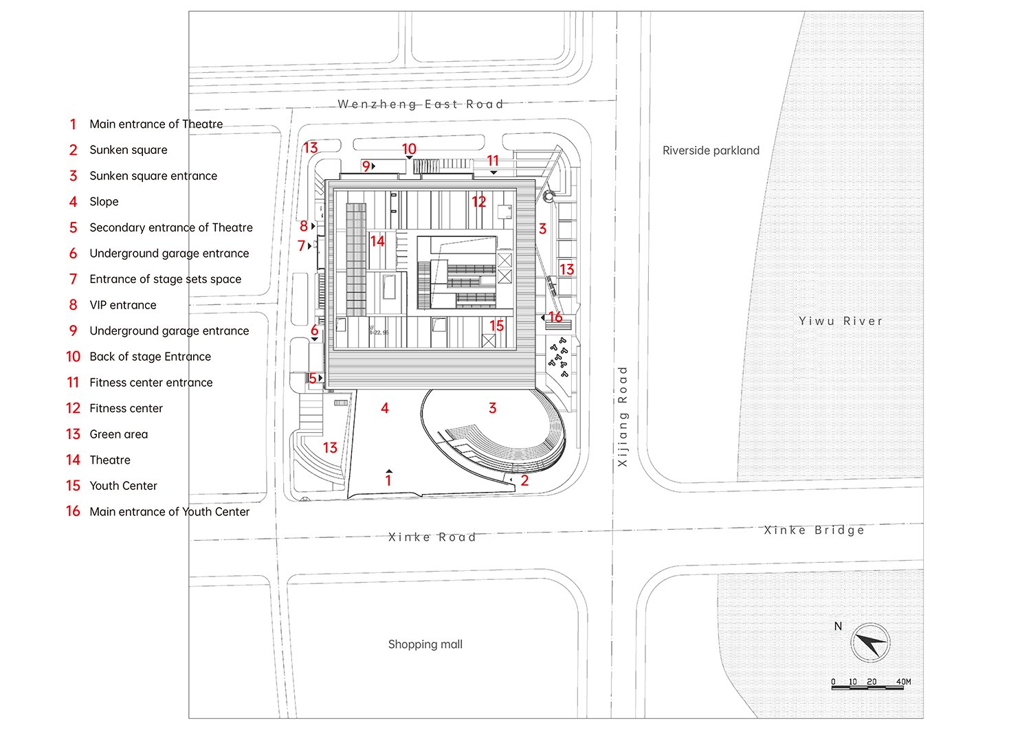 Plan The Architectural Design & Research Institute of Zhejiang University}