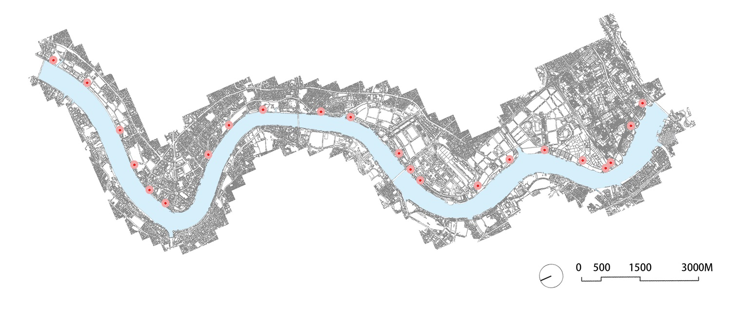 Location of 22 River View Service Stations Atelier Z+}