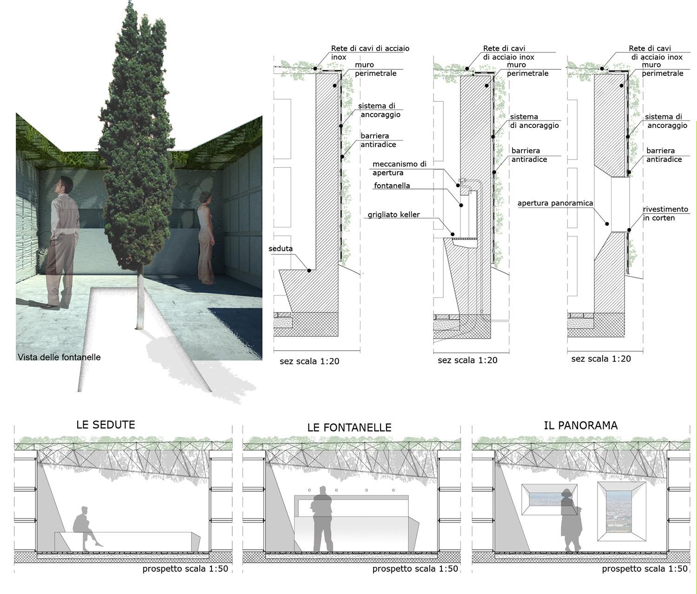 Progetto di dettagli architettonici - le cappelle Guendalina Salimei - TStudio}