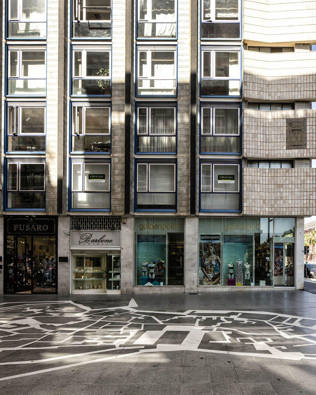 Salotto Bari Vecchia - dettaglio pavimentazione Luigi Filetici