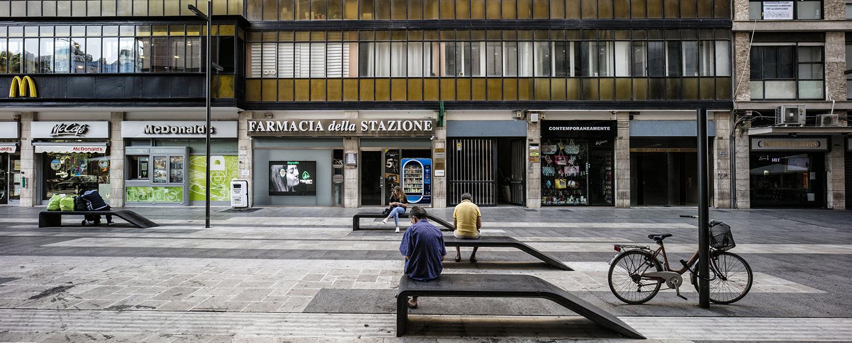 Salotto della Musica - particolare delle sedute Luigi Filetici