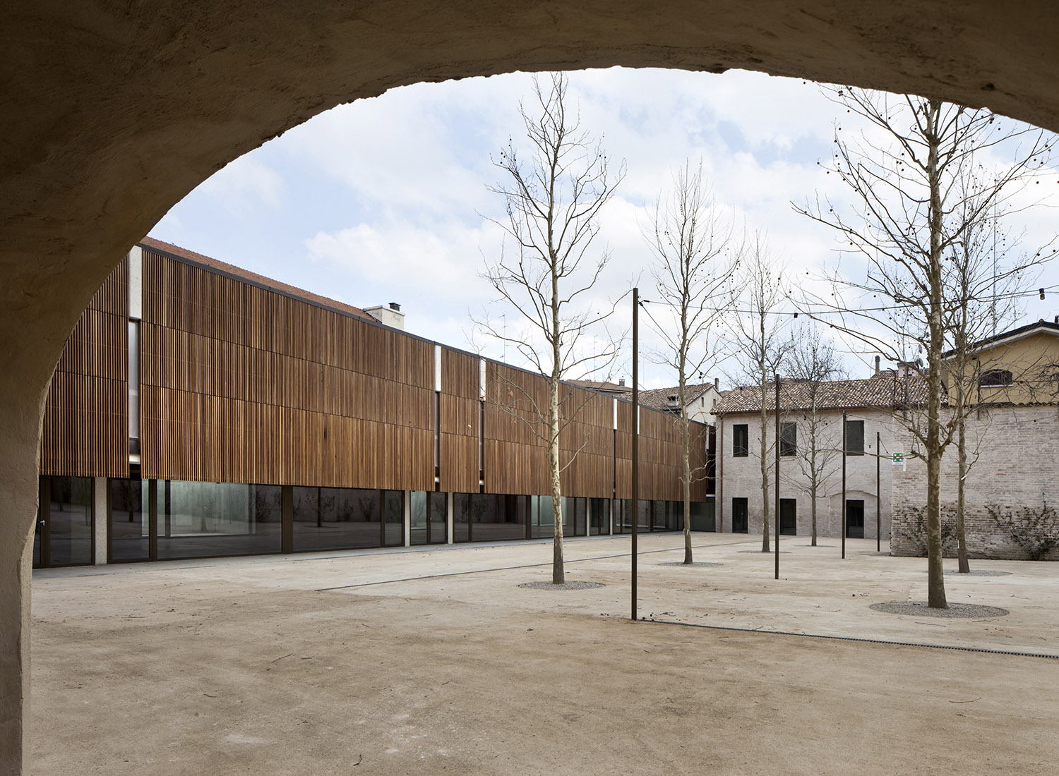 Courtyard areas, Urban Open Laboratories and old stables Alessandra Chemollo