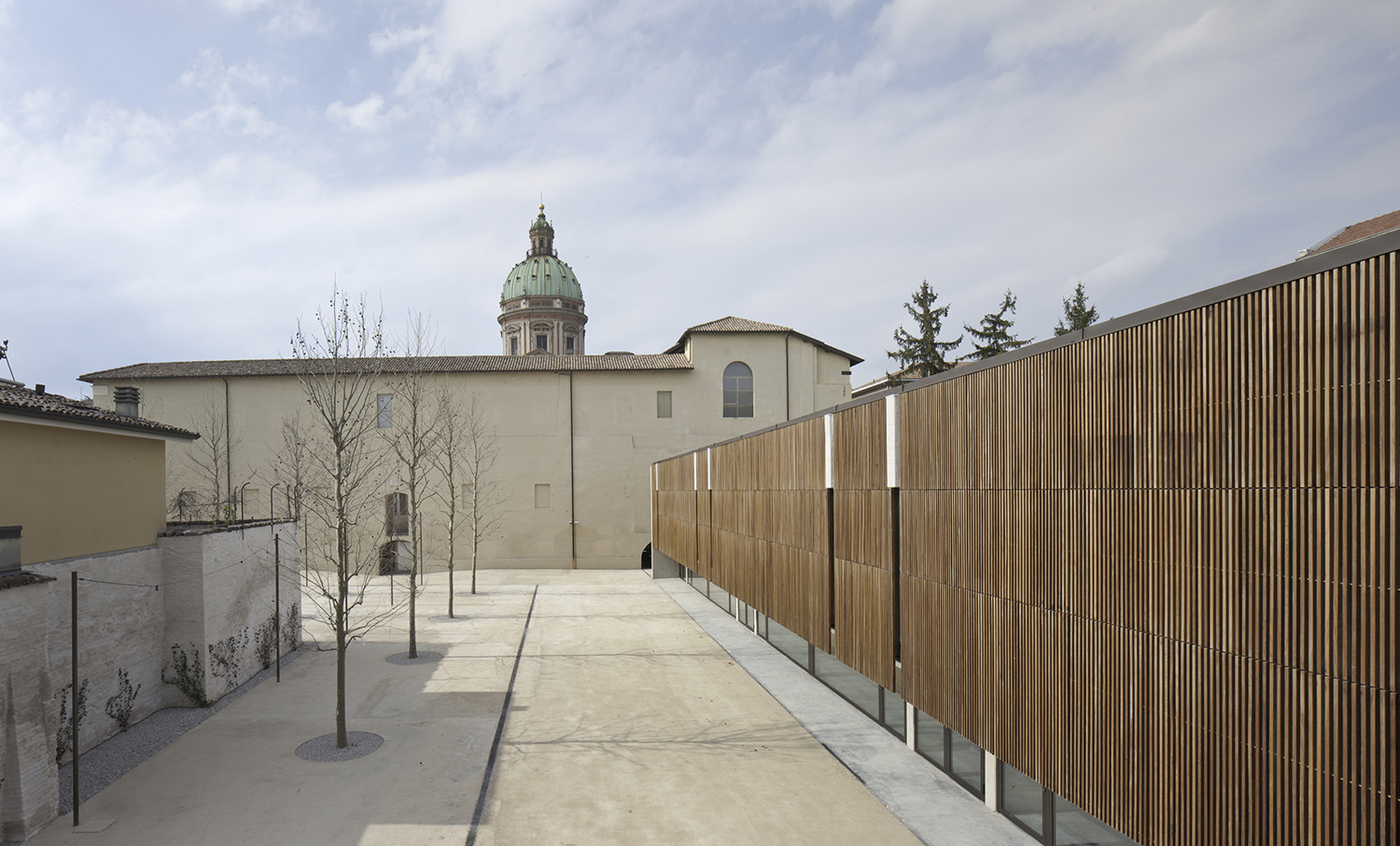 Courtyard areas and Urban Open Laboratories seen from old stables Alessandra Chemollo
