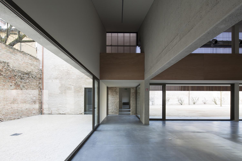 Urban open laboratories, internal space looking towards old stables Kai-Uwe Schulte Bunert